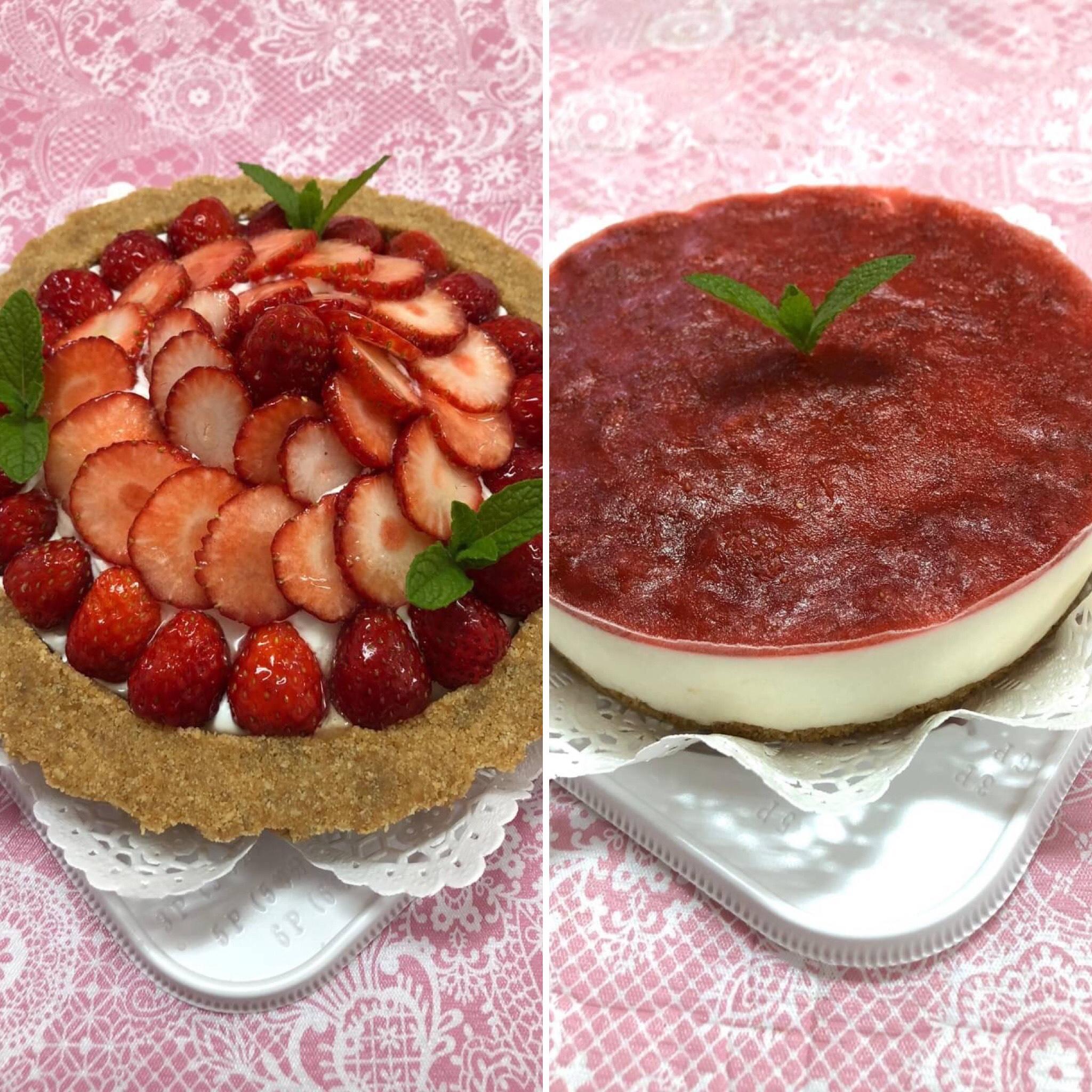 【いちごのケーキ2種類のご紹介♪】